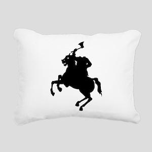 Headless Horseman Rectangular Canvas Pillow