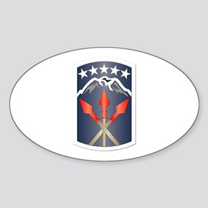 SSI - 593rd Sustainment Brigade Sticker (Oval)