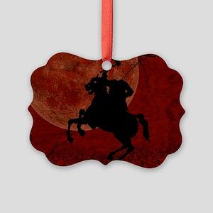 Headless Horseman Picture Ornament