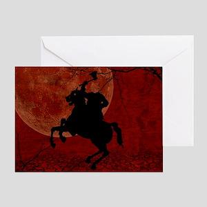Headless Horseman Greeting Card