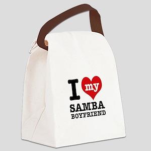 I love my Samba Boyfriend Canvas Lunch Bag