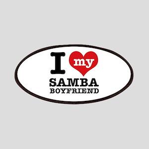 I love my Samba Boyfriend Patches