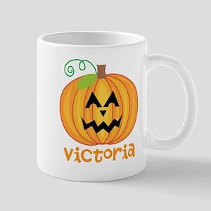 Personalized Halloween Pumpkin Mug