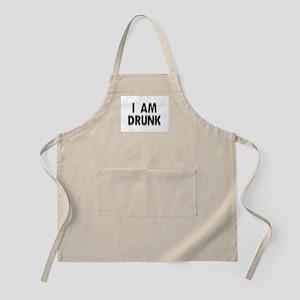 I am DRUNK BBQ Apron