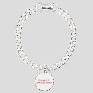 cancer-survivor-kon-red Bracelet