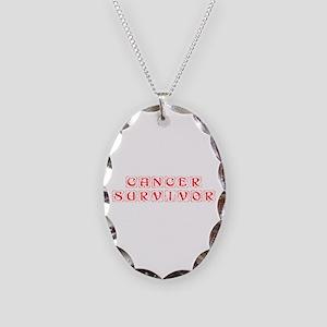 cancer-survivor-kon-red Necklace