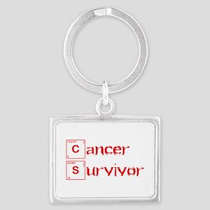 cancer-survivor-break-red Keychains
