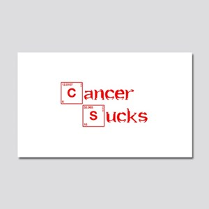 cancer-sucks-break-red Car Magnet 20 x 12