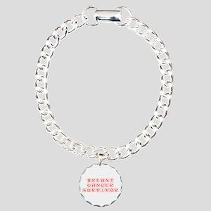 breast-cancer-survivor-kon-red Bracelet