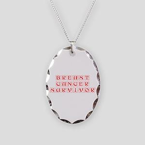breast-cancer-survivor-kon-red Necklace