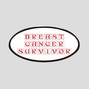 breast-cancer-survivor-kon-red Patches