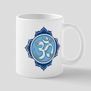 Lotus Om Mug
