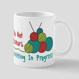 Knitting in Progress Mugs