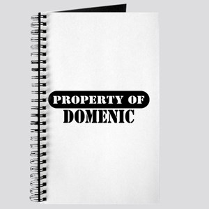 Property of Domenic Journal