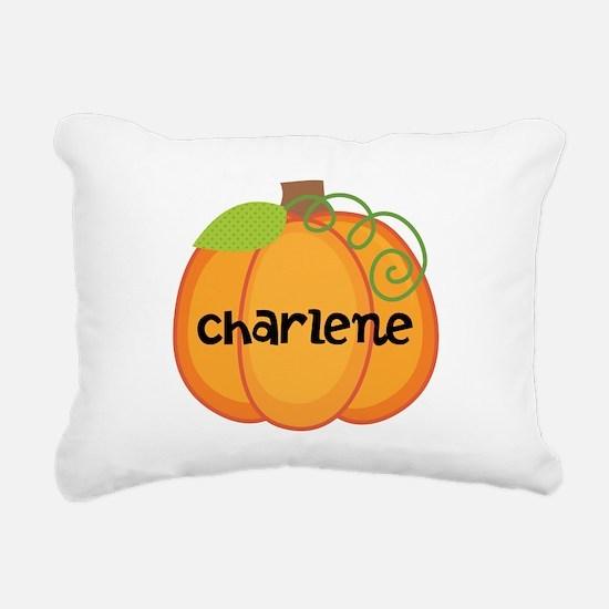 Personalized Halloween Pumpkin Rectangular Canvas