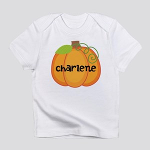 Personalized Halloween Pumpkin Infant T-Shirt