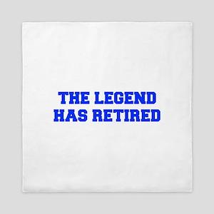 LEGEND-HAS-RETIRED-FRESH-BLUE Queen Duvet
