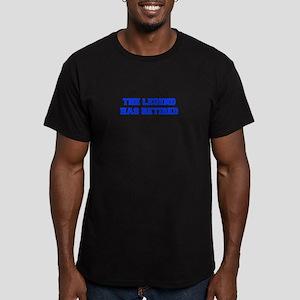 LEGEND-HAS-RETIRED-FRESH-BLUE T-Shirt