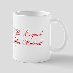 LEGEND-HAS-RETIRED-cho-red Mugs
