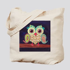 Midnight Eastern Owl Tote Bag
