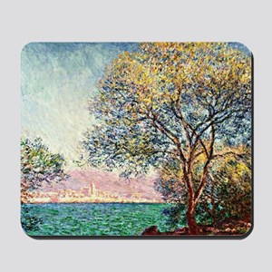 Monet - Antibes in the Morning, Claude M Mousepad