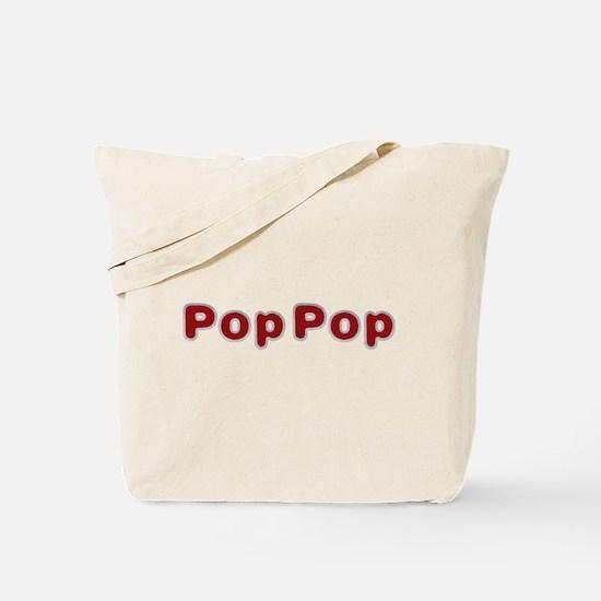 PopPop Santa Fur Tote Bag