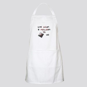 one down BBQ Apron