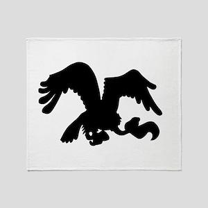 Vulture Throw Blanket
