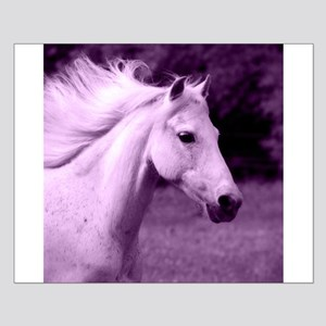 Purple Horse Head Posters