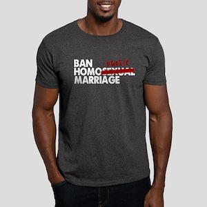 Homophobic Marriage Dark T-Shirt