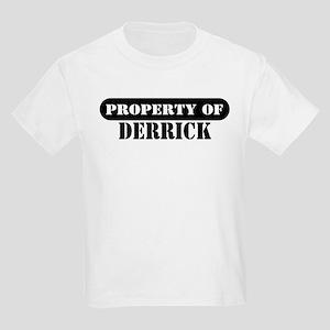Property of Derrick Kids T-Shirt
