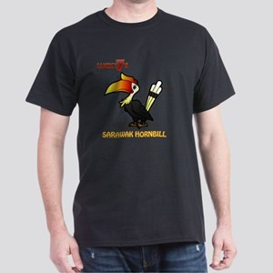 Lucky7's Sarawak Hornbill Dark T-Shirt