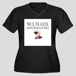 W.I.N.O.S. Sanity Plus Size T-Shirt