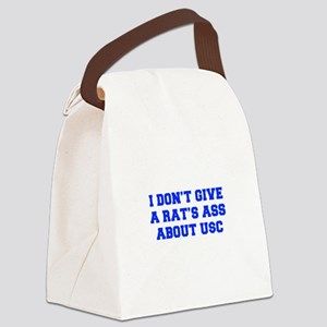 RATS-ASS-FRESH-BLUE Canvas Lunch Bag