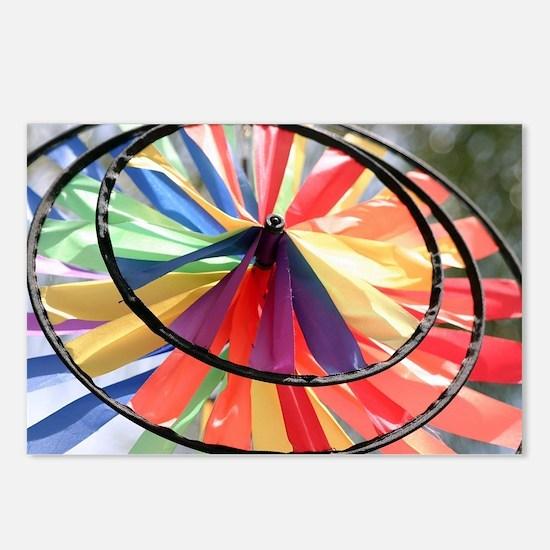 Wind Wheel Postcards (Package of 8)