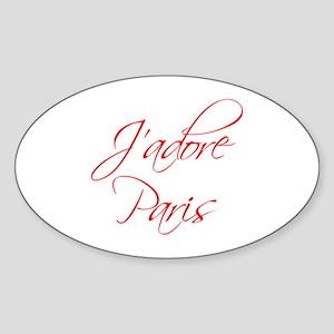 paris-scr-red Sticker