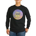 LetGo-Dragonfly (multi) Long Sleeve Dark T-Shirt