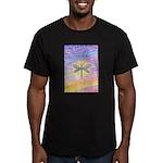 LetGo-Dragonfly (multi) Men's Fitted T-Shirt (dark