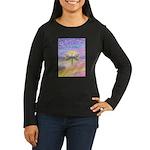 LetGo-Dragonfly (multi) Women's Long Sleeve Dark T