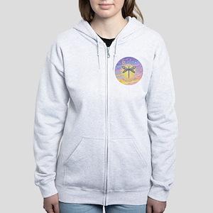 LetGo-Dragonfly (multi) Women's Zip Hoodie