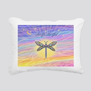 LetGo-Dragonfly (multi) Rectangular Canvas Pillow