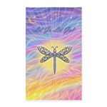 LetGo-Dragonfly (multi) 3'x5' Area Rug