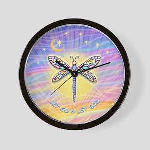 LetGo-Dragonfly (multi) Wall Clock