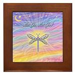 LetGo-Dragonfly (multi) Framed Tile