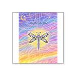 LetGo-Dragonfly (multi) Square Sticker 3