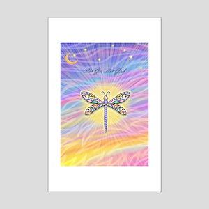 LetGo-Dragonfly (multi) Mini Poster Print
