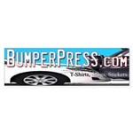 Bumper Press Bumper Sticker