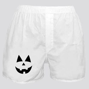 Pumpkin Face Boxer Shorts