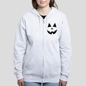 Pumpkin Face Zip Hoodie