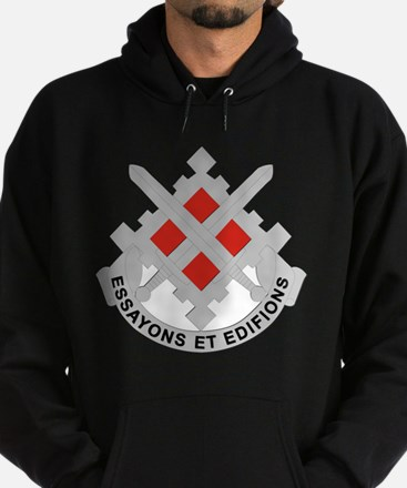 DUI-18th Engineer Brigade Hoodie (dark)